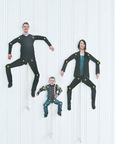 Dancing Family Cut-Outs: Great recipes and more at http://www.sweetpaulmag.com !! @?? ?? S. Paul Magazine
