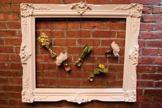 Flowers in Frame from Hatch Creative Studios