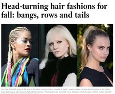 The LA Times Thinks Cornrows Are NOW More Chic And Edgy Because They Are Less Urban  Read the article here - http://www.blackhairinformation.com/general-articles/opinion/la-times-thinks-cornrows-now-chic-edgy-less-urban/ #cornrows #blackhairstyles