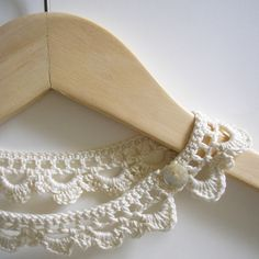 crochet necklace - free pattern