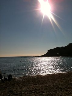 A Late Summers day at Lulworth Cove, Dorset, UK
