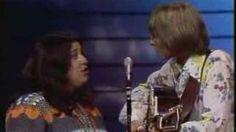 John Denver & Cass Elliot - Leaving On A Jet Plane, via YouTube.