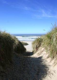 Beach at Manzanita, Oregon