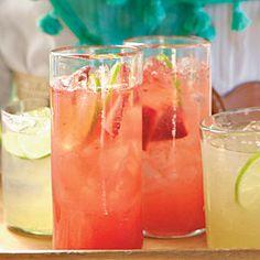 Strawberry Margarita Spritzers | MyRecipes.com