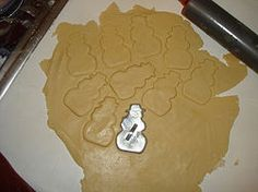 Sugar cookie recipe and how to use cookie cutters