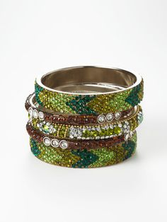 .bangle bracelets. Chamak by priya kakkar