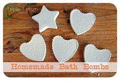 Homemade bath bombs kids can make