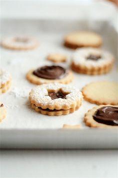 Chocolate Hazelnut Cream Cookies
