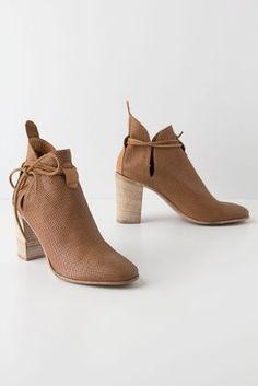 Anthropologie---Sliced Pointelle Booties