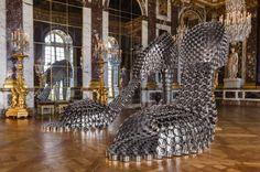 modern art collections at Le Chateau de Versailles?