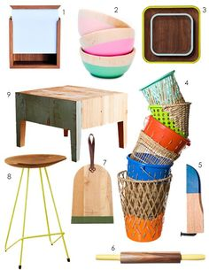 paint the wooden side tables?
