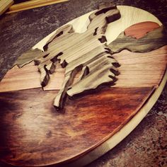 neat idea, buck hors, wood shop, wall hang, hors wall