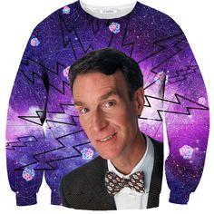 Bill Nye Sweater // Shelfies