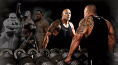 Can you smell what The Rock is cooking? The WWE megastar talks about his rise to stardom and gives us his complete shoulder workout.