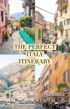 Planning a trip to Italy or hoping to someday?  Here is the perfect 3 week Italy itinerary, including a mix of both vibrant cities and low-key seaside towns.