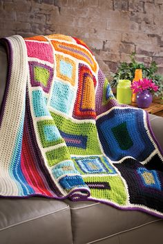 crochet blanket, nice and simple