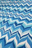 @Jonathan Adler for @Kravet 'Wabash' flame pattern printed linen, color: Aquamarine