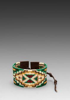 CHAN LUU Bracelet in Green Gold Mix - CHAN LUU