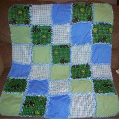 John Deere boy quilt