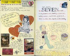 Visual Journal love...