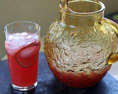 All Natural Pink Lemonade Recipe