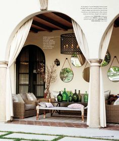 Outdoor Living Areas.