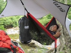 For those times you want to hammock up but the rain is falling down. A must have before my next camping trip.