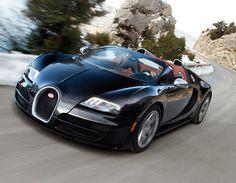 Bugatti Veyron Grandsport Visette Black