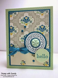Stamp With Sandy: Hello Darling for STS25
