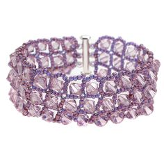 Tutorial - How to: The Radiant Orchid Bracelet | Beadaholique