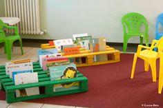 pallets as book racks