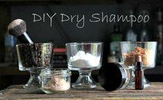 DIY Dry Shampoo Recipes