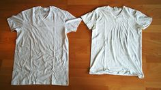 How to restore a shrunkin tshirt and other Clothing Annoyances, Fixed