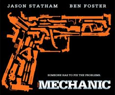 The Mechanic movie poster 2