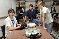A North End youth club is one of two Hamilton high school teams showcasing homemade robots at a Muskoka resort conference July 9 and 10. The team is presenting a robotic walking guide for museum visitors!