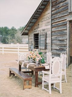 Beautiful and rustic little details.