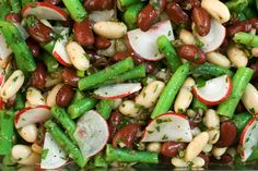 All-American 4th of July Barbecue Recipes : Three-Bean Salad - CHOW