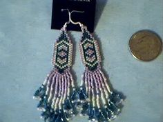 Teal and Lavender earrings   beadlady61 - Jewelry on ArtFire #onfireteam #lacwe #accessories #jewelry #earrings
