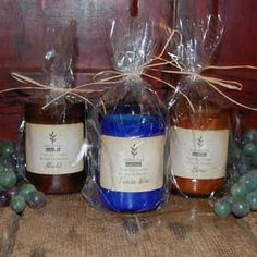 Wine Candles by Willow Bay Naturals
