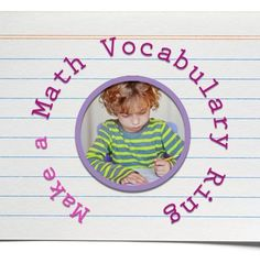 Encouraging your child to use accurate #math vocabulary aids comprehension. See our #LearningToolkit blog for more.