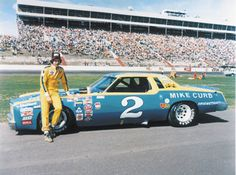 Dale Earnhardt and his first championship car!