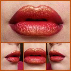 firey lips - MUA lesley johnston