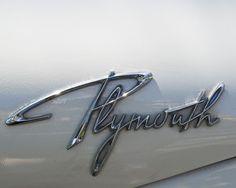 Plymouth Name Tag.