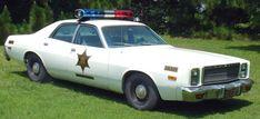 """Hazzard County Sheriffs Car """"Dukes of Hazzard"""""""
