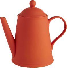 Wayne Orange Teapot - Matchbook Magazine
