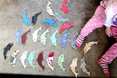 out of our ocean unit, dolphins were definitely Lucy's favorite! free printables, info, and lots of resources!