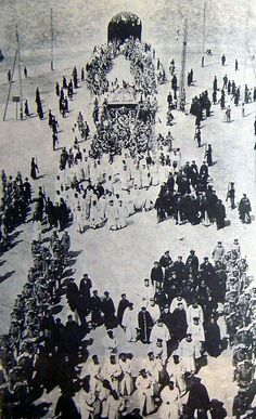 The state funerals of the Empress Dowager Cixi 慈禧太后 and Emperor Guangxu.