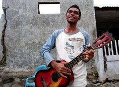Musician in East Timor