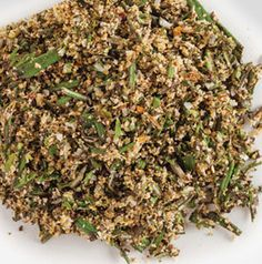Add a little Italian to your steak! Garlic and Rosemary Steak Rub is best made fresh. It smells so good!