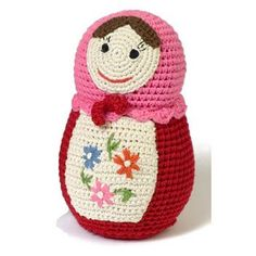 Crochet Russian Doll by Anne-Claire Petit.
